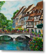 Colmar In Full Bloom Metal Print