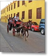 Colombia Carriage Metal Print