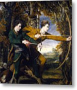 Colonel Acland And Lord Sidney Archers Metal Print