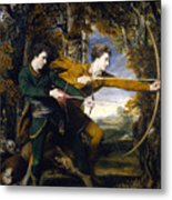 Colonel Acland And Lord Sydney The Archers Metal Print