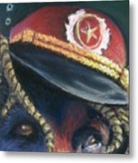 Colonel Nose Knows Close-up Metal Print