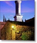 Colonia Lighthouse Metal Print