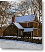 Colonial Christmas Metal Print