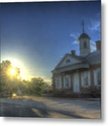 Colonial Courthouse  Metal Print