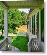 Colonial Domesticity Metal Print