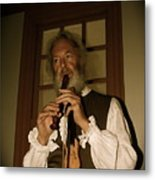 Colonial Entertainer Metal Print