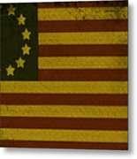 Colonial Flag Metal Print