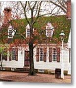 Colonial House Metal Print