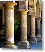 Colonnades Metal Print by Mexicolors Art Photography