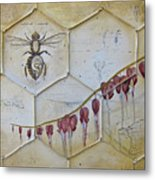 Colony Collapse Disorder Metal Print by Kristin Llamas