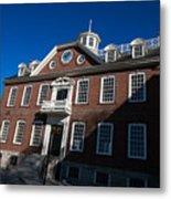 Colony House Newport Rhode Island Metal Print