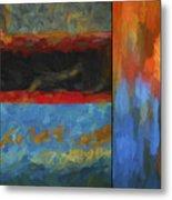 Color Abstraction Li  Metal Print