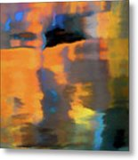 Color Abstraction Lxxii Metal Print