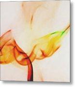 Color And Smoke I Metal Print