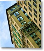 Color Buildings Architecture New York  Metal Print
