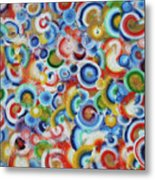 Color Circles 201810 Metal Print
