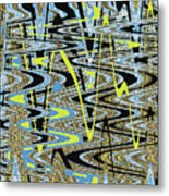 Color Combo Abstraction Metal Print