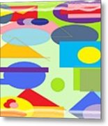 Color Confusion Metal Print