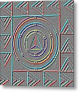 Color Design Metal Print