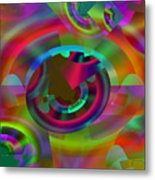 Color Dome Metal Print