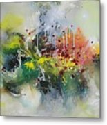 Color Fever Large 16 Metal Print