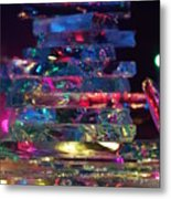 Color Glass Metal Print