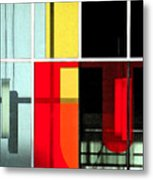 Color Grid 1 Metal Print