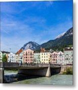Color In Innsbruck Metal Print
