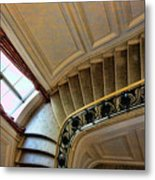 Color Interior Stairs  Metal Print