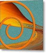 Color Me Bright Metal Print