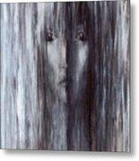 Color Of Rain Metal Print by Patricia Ann Dees