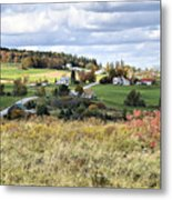 Color On The Hills Metal Print