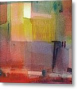 Color Patches Metal Print