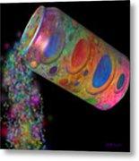 Color Spill Metal Print