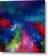 Color Splash Abstract 080210 Metal Print
