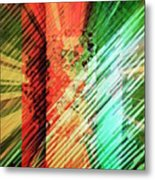 Color Stripes Metal Print