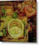 Color Study February Metal Print by Jana Barros