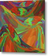 Color Swells Metal Print