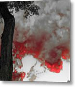 Color The Clouds Metal Print