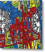 Color Time Metal Print