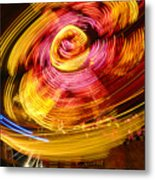 Color Twist Metal Print
