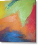 Color Wars Metal Print