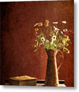 Color Wild Garden Metal Print