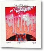 Color1 Monoprint Metal Print