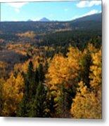 Colorado Autumn - 2 Metal Print