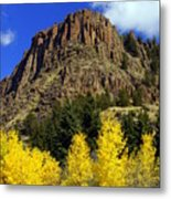 Colorado Butte Metal Print