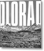 Colorado Cityscape Metal Print