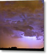 Colorado Cloud To Cloud Lightning Thunderstorm 27g Metal Print