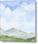 Colorado Cloudscape Metal Print