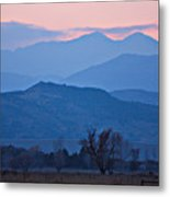 Colorado Country - Boulder County Metal Print